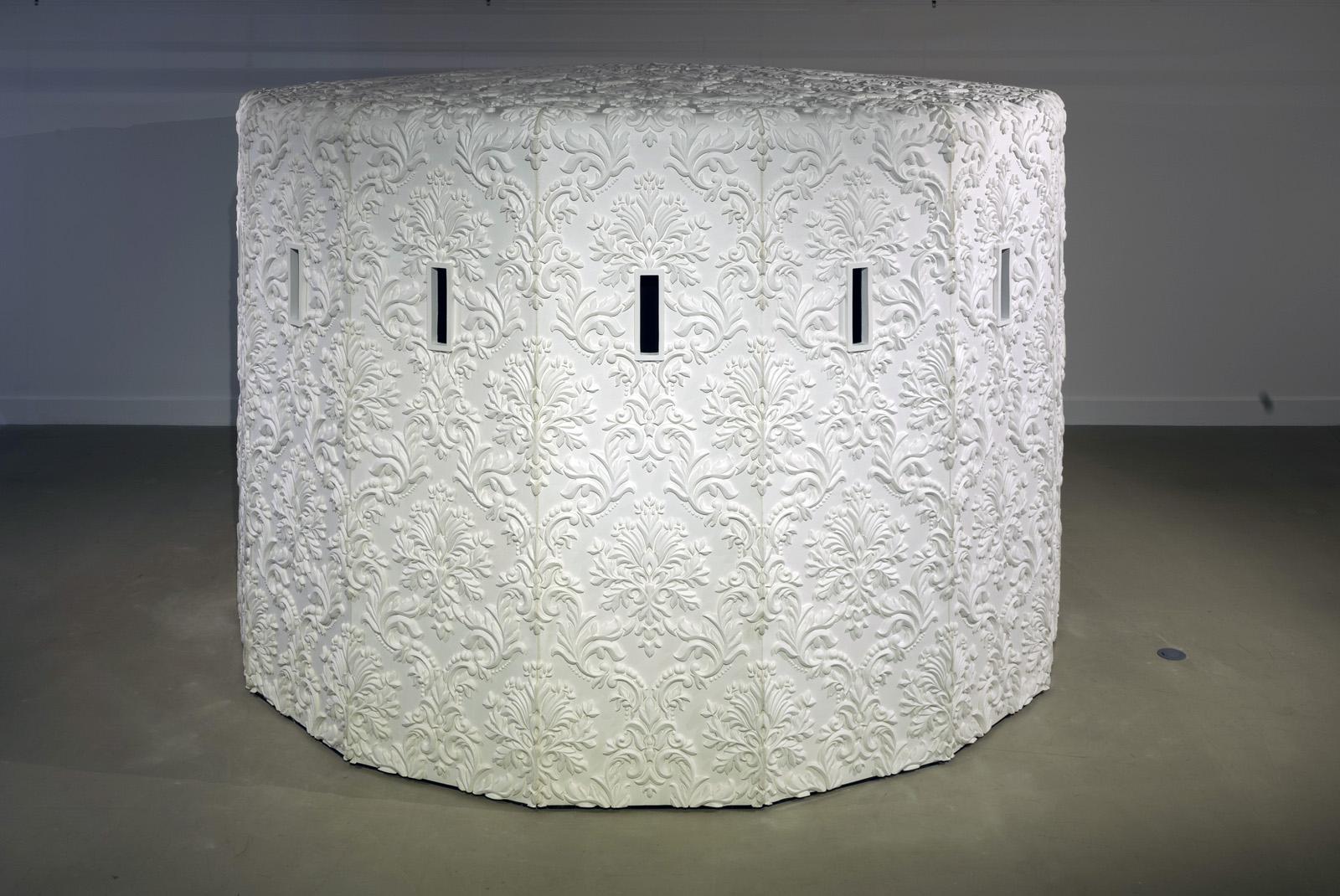 Brett Graham's Tai Moana Tai Tangata exhibition at Govett-Brewster Art Gallery, New Plymouth, New Zealand