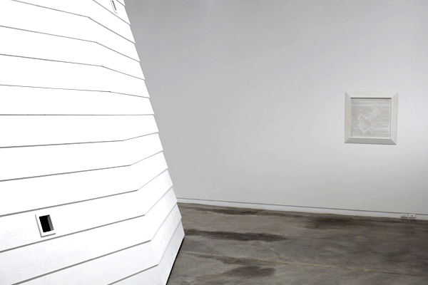 Brett Graham's Monument exhibition at Two Rooms Gallery, Auckland, New Zealand