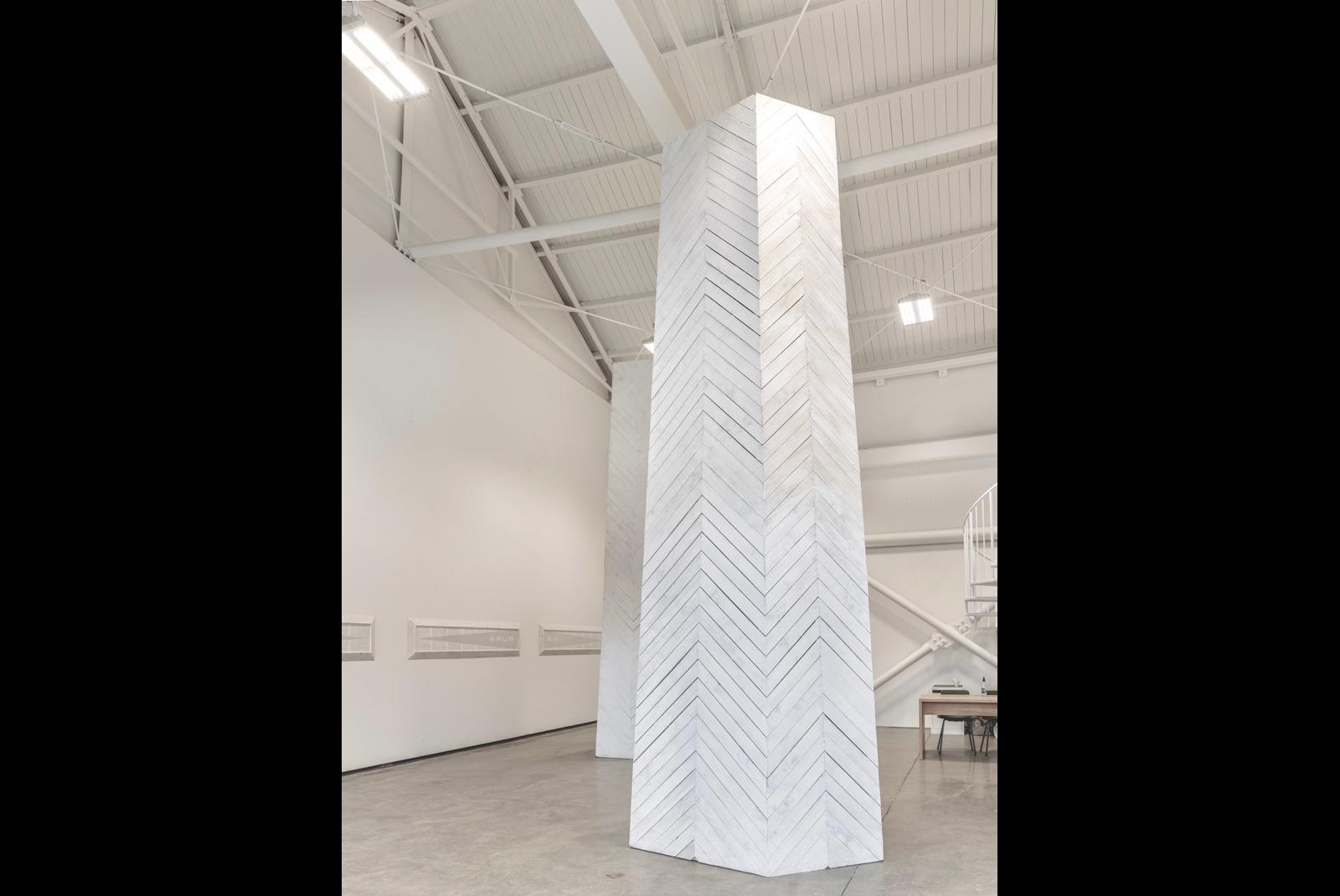 Properties of Peace and Evil, installation by New Zealand artist Brett Graham