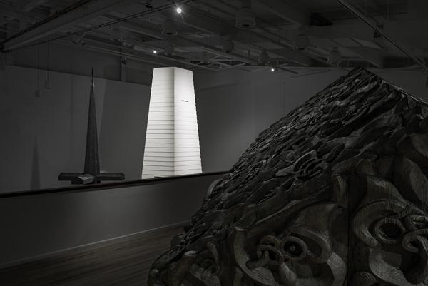 Tai Moana Tai Tangata exhibition at Govett-Brewster Art Gallery, New Plymouth, New Zealand; photo by Neil Pardington